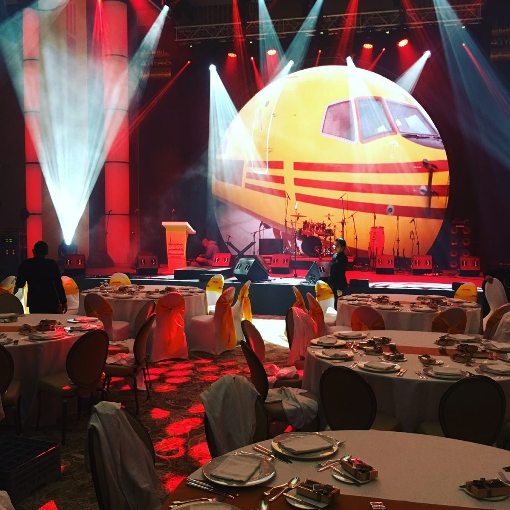 DHL 40th Anniversary Event