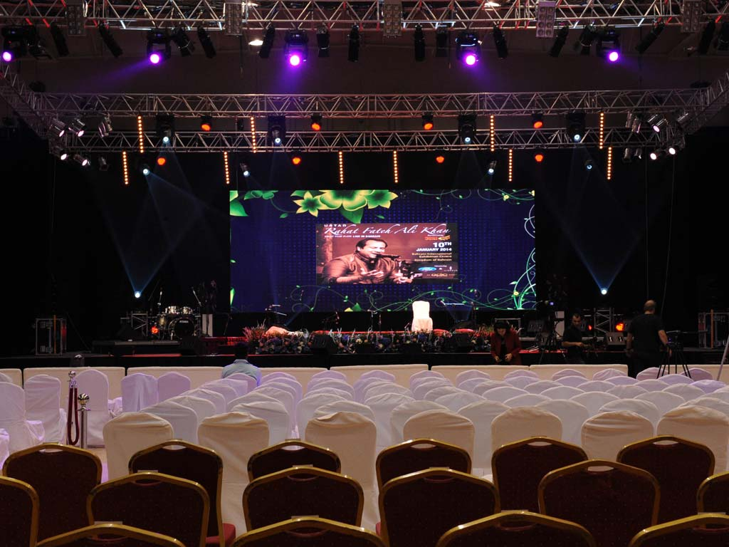 Rahat Fateh Ali Khan at BIEC