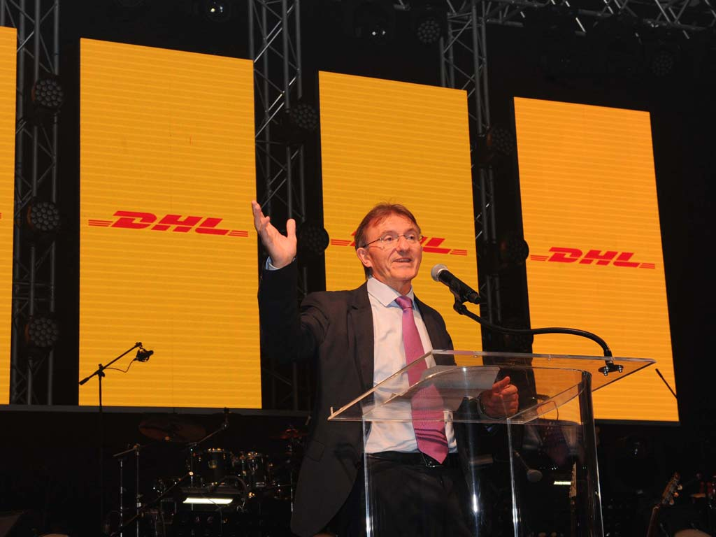 DHL dinner at Four Seasons
