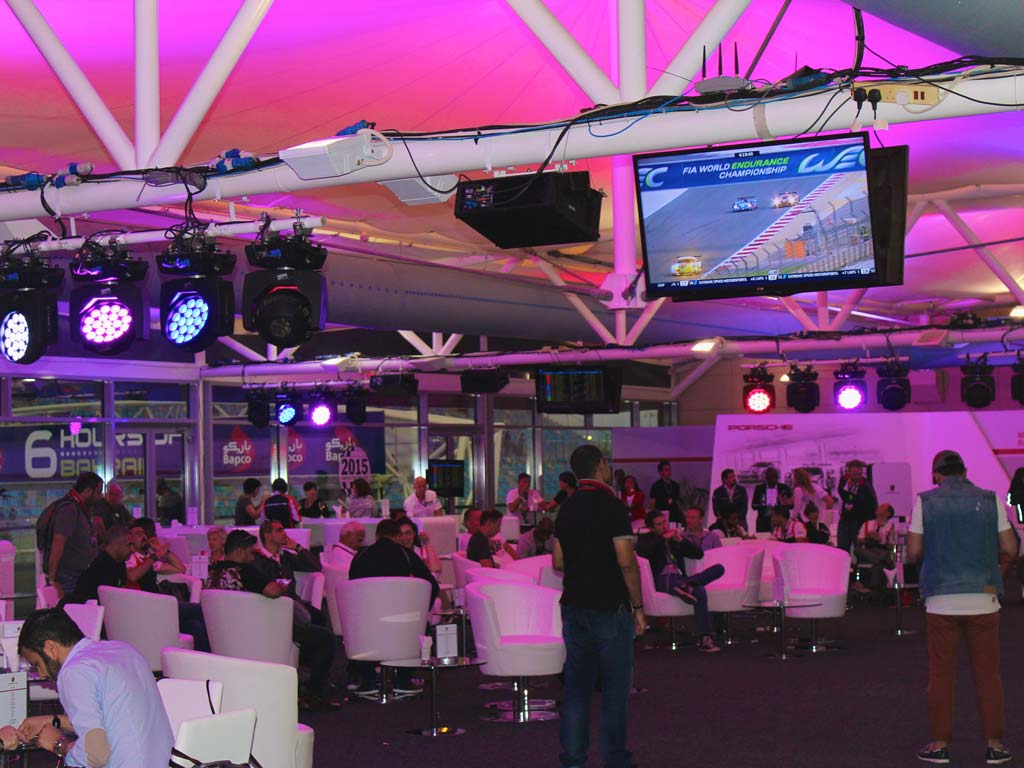 Porsche Hospitality Lounge at WEC